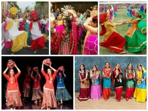 Famous Folk Dance In Punjab